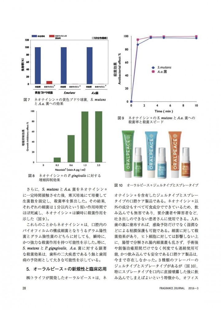 飲み込んでも安全な乳酸菌抗菌ペプチドの効果と臨床応用5
