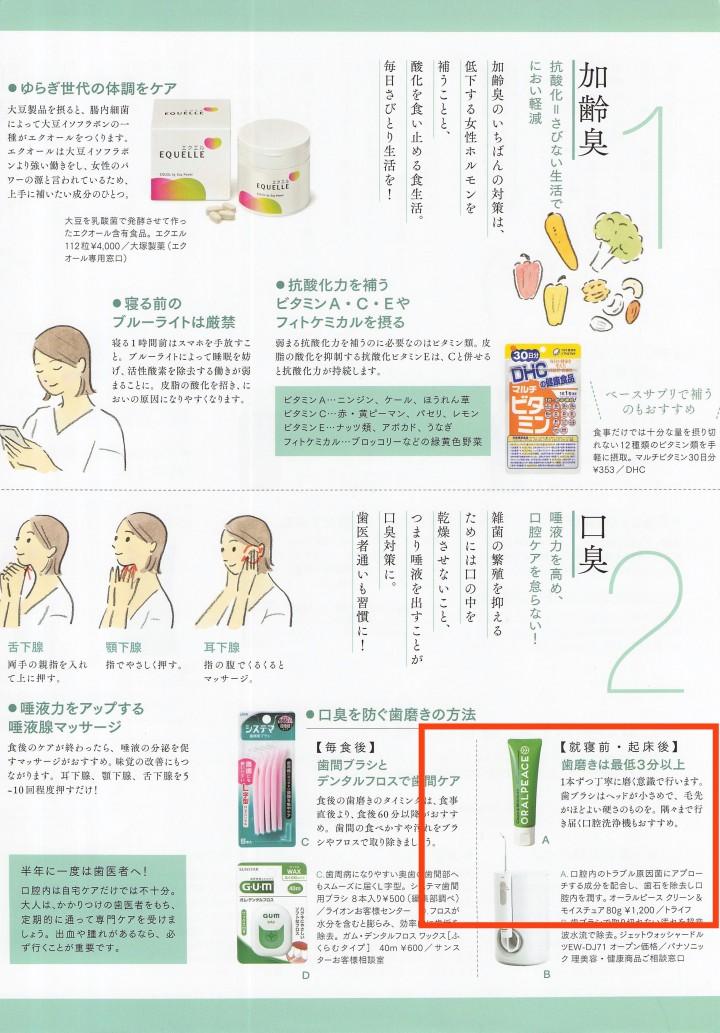 オーラルピース大人のおしゃれ手帳2